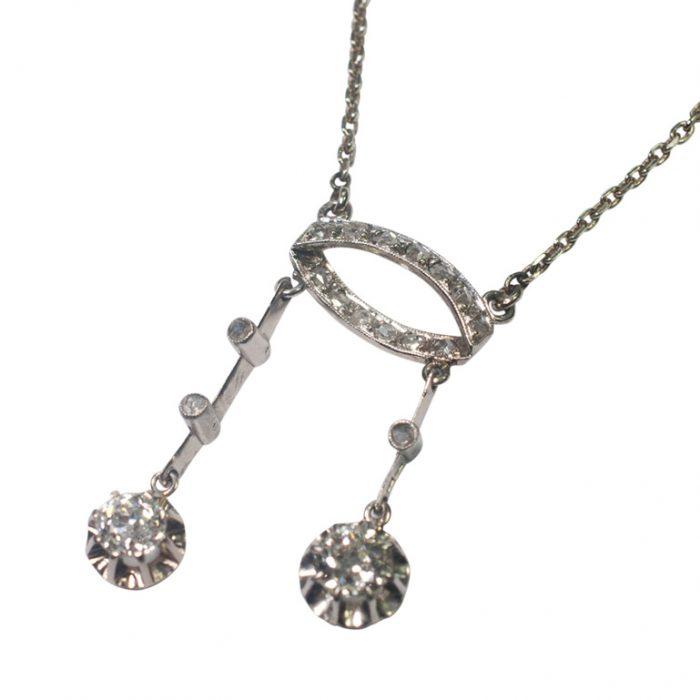 Diamond Neglige Pendant from Plaza Jewellery - image 2