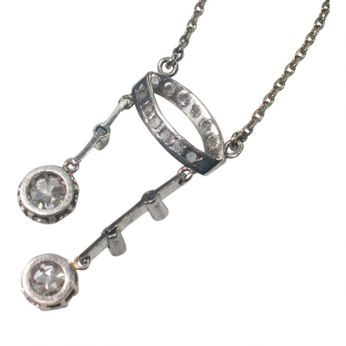Diamond Neglige Pendant from Plaza Jewellery - image 3