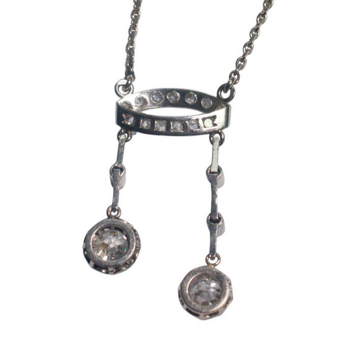 Diamond Neglige Pendant from Plaza Jewellery - image 4