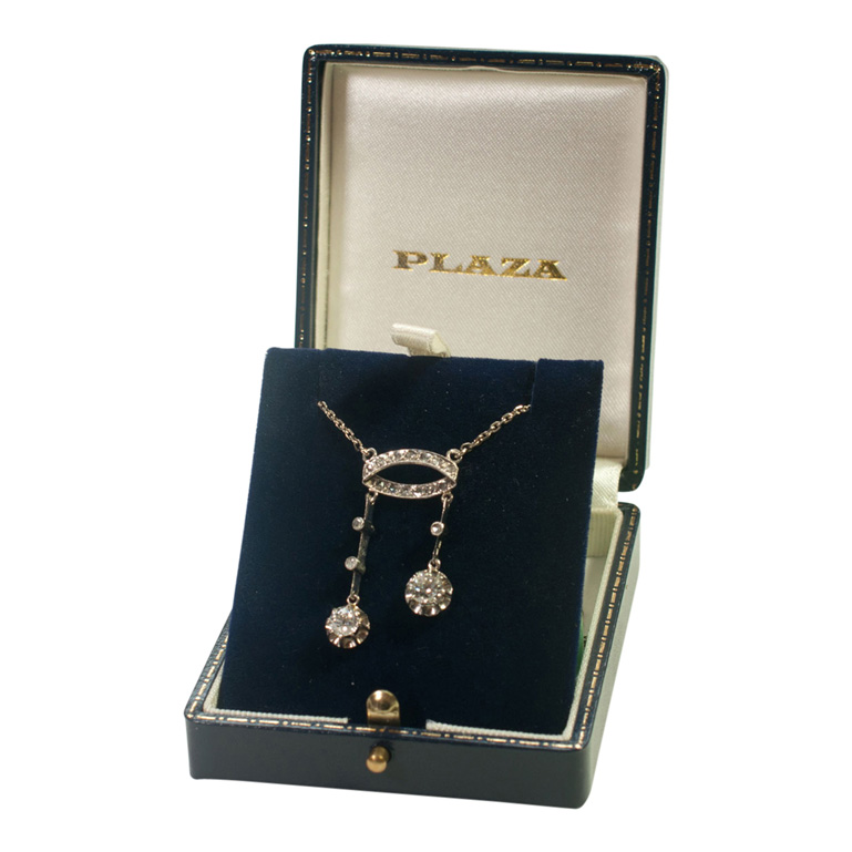 Diamond Neglige Pendant from Plaza Jewellery - image 5