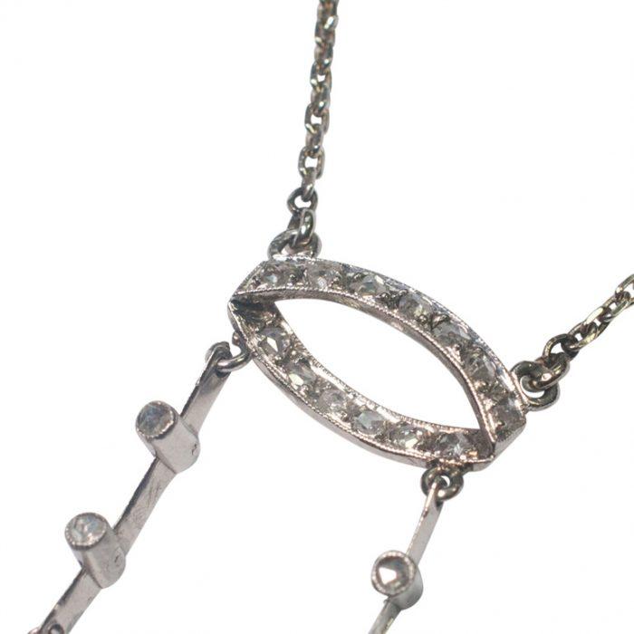 Diamond Neglige Pendant from Plaza Jewellery - image 6