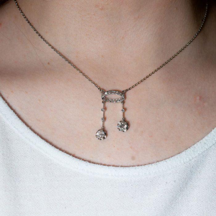 Diamond Neglige Pendant from Plaza Jewellery - image 7