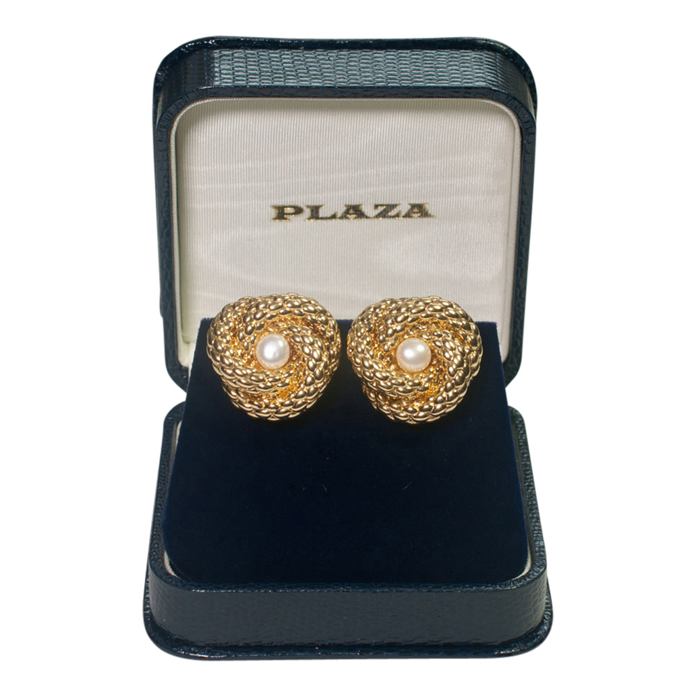 Gold Fope Earrings from Plaza Jewellery - image 7