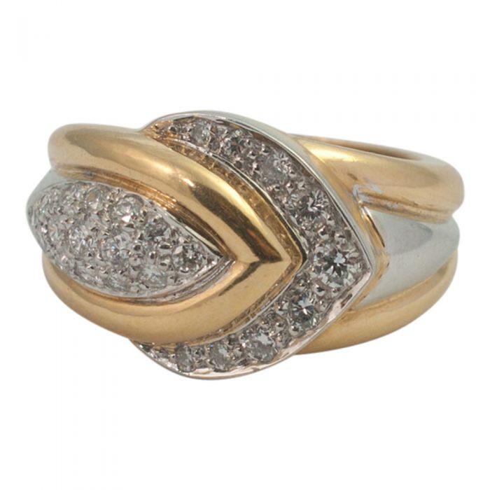 Diamond Chevron Ring from Plaza Jewellery - image 1