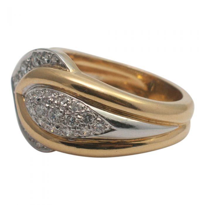 Diamond Chevron Ring from Plaza Jewellery - image 2