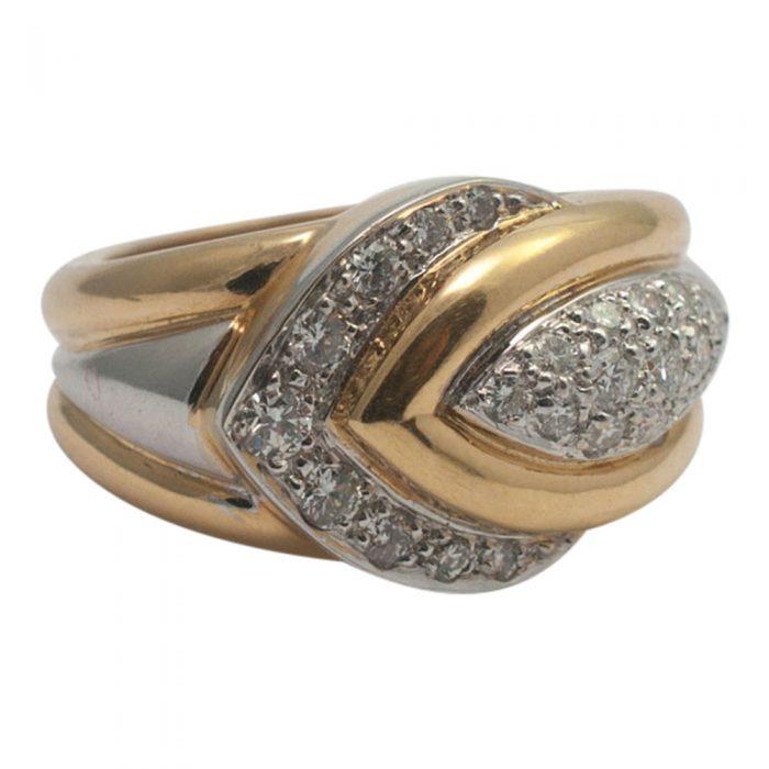 Diamond Chevron Ring from Plaza Jewellery - image 4