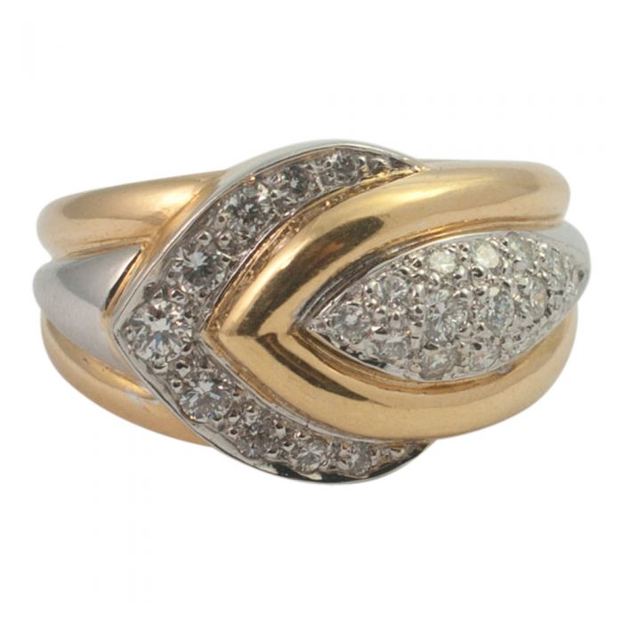 Diamond Chevron Ring from Plaza Jewellery - image 6
