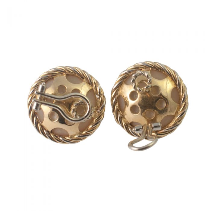 Gold Pearl Clip Earrings from Plaza Jewellery - image 5