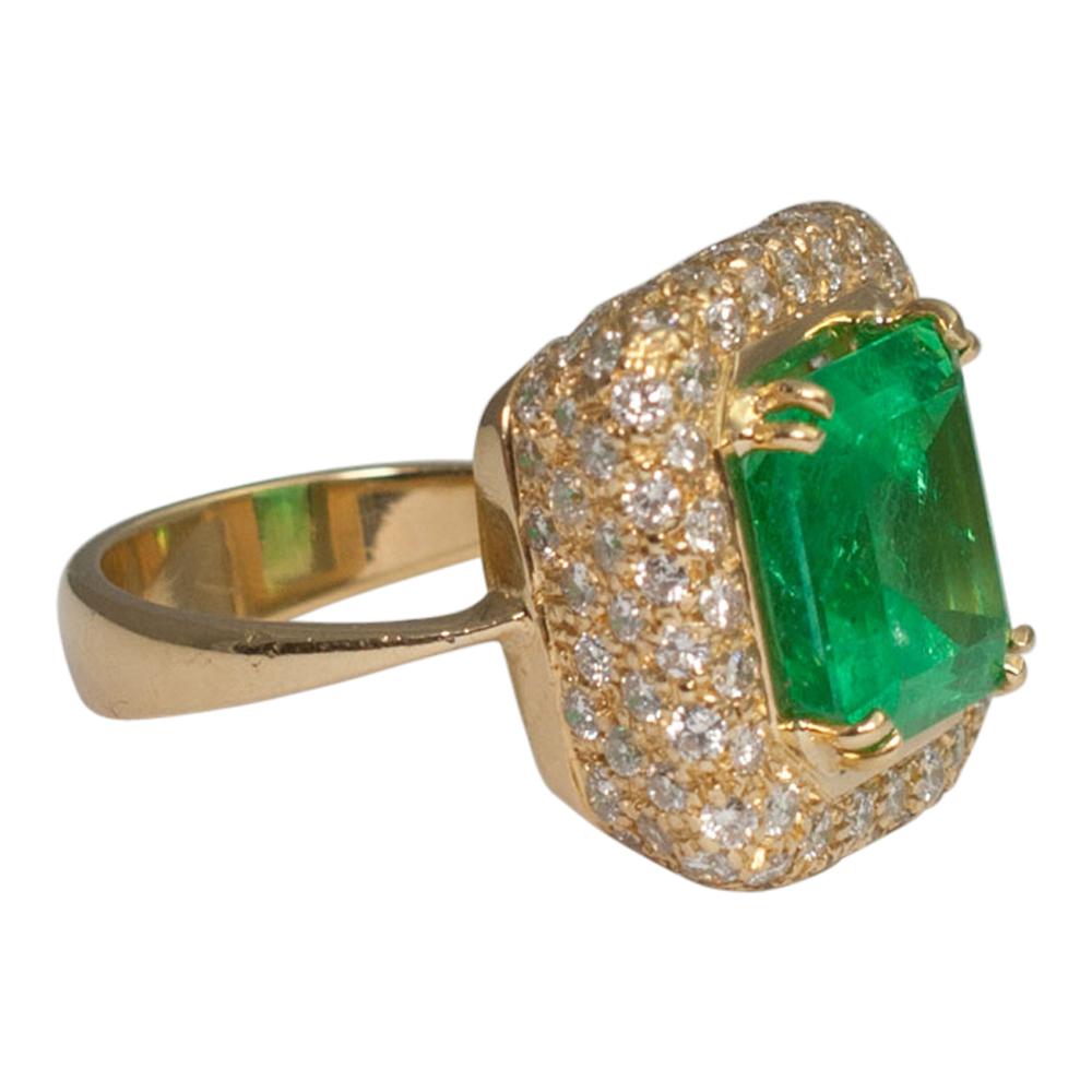 Green Diamond Ring Uk