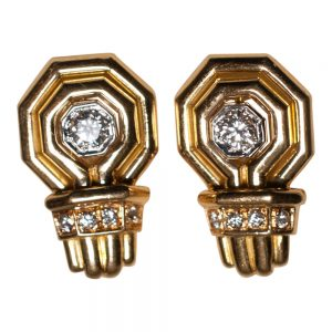 Chaumet Gold Cufflinks