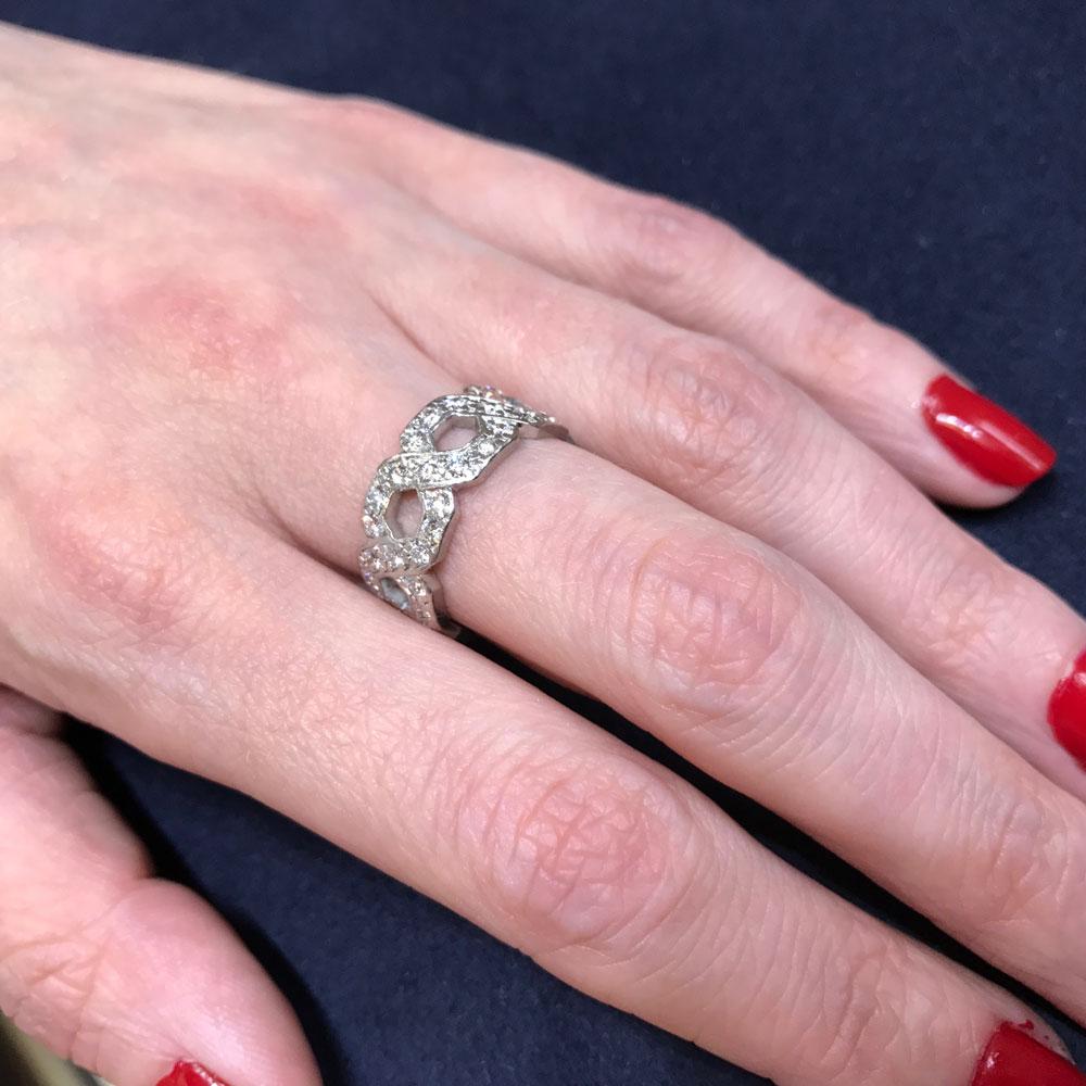 Tiffany & Co Diamond Band Ring - Plaza Jewellery