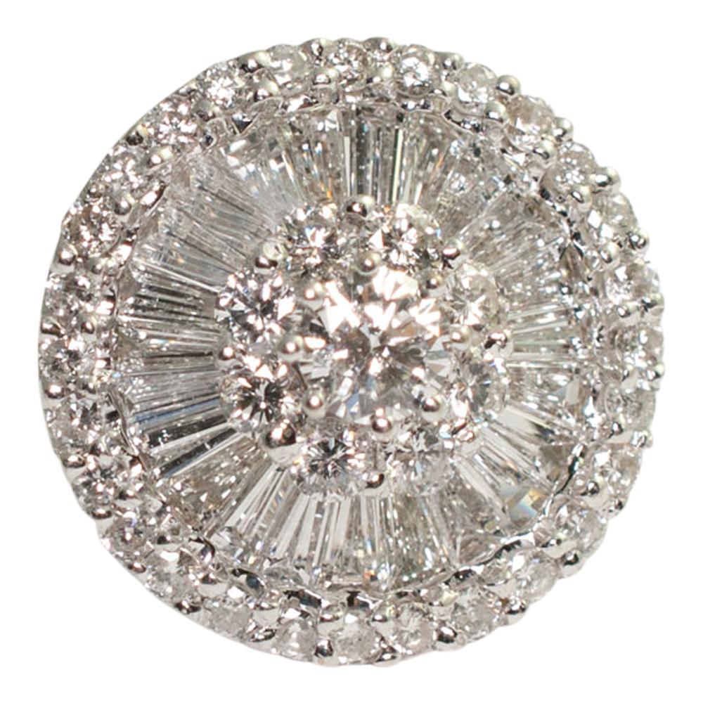 Baguette Diamond Earrings Sales