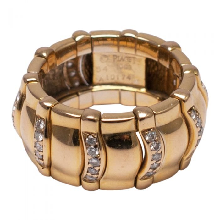 Piaget Diamond and Gold Band Ring