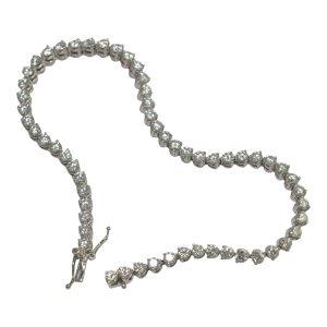 Picciotti, Italy Diamond Line Bracelet in 18ct Gold