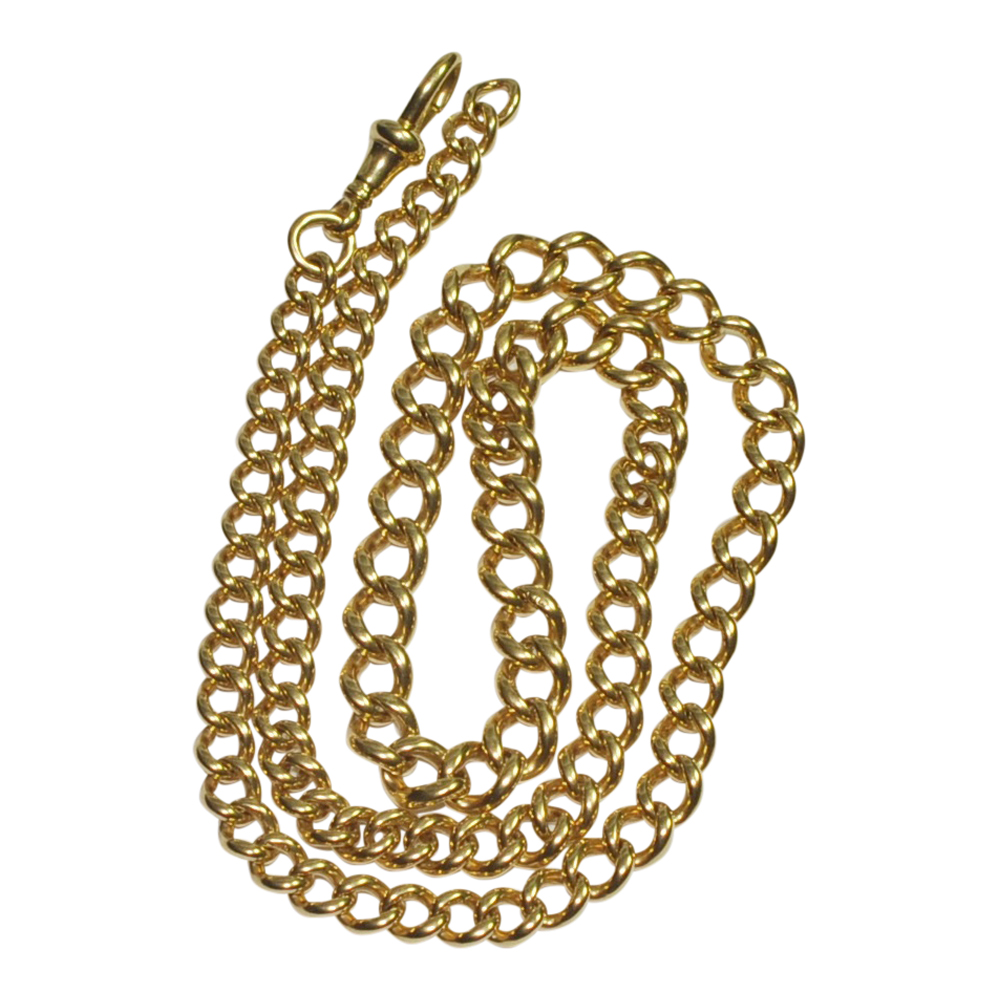 18ct Gold Victorian Albert Chain