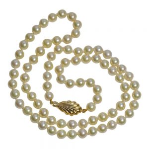 Long Cultured Pearl Necklace
