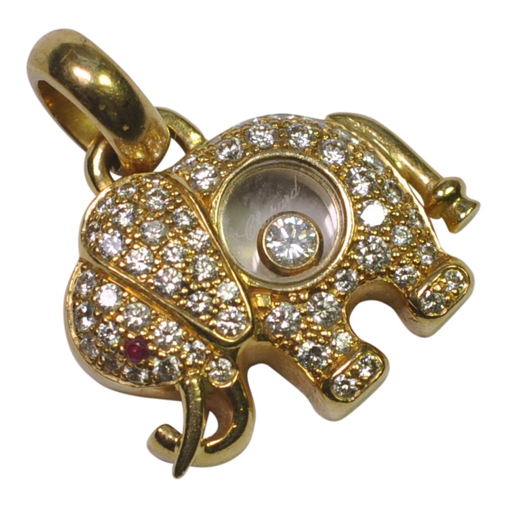 Chopard Floating Diamond Earrings
