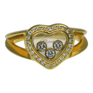 Chopard Happy Diamond 18ct Gold Ring