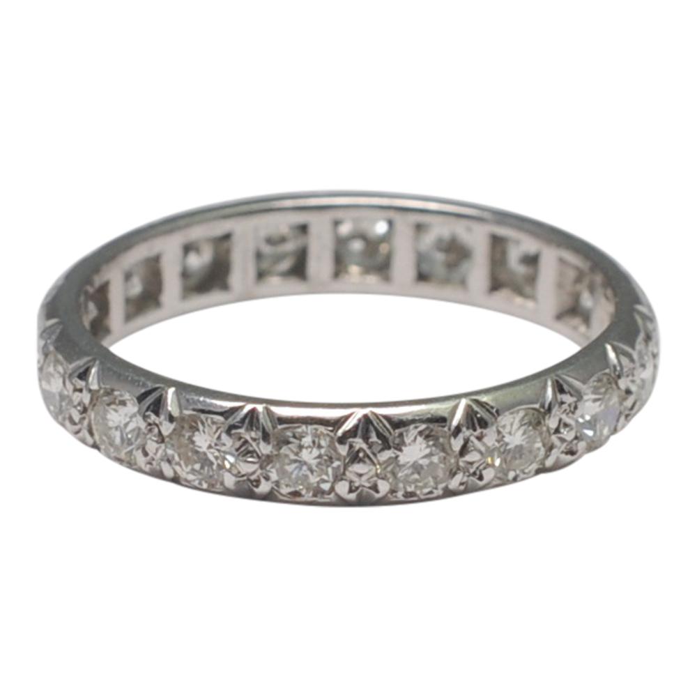 Diamond Eternity Platinum Ring