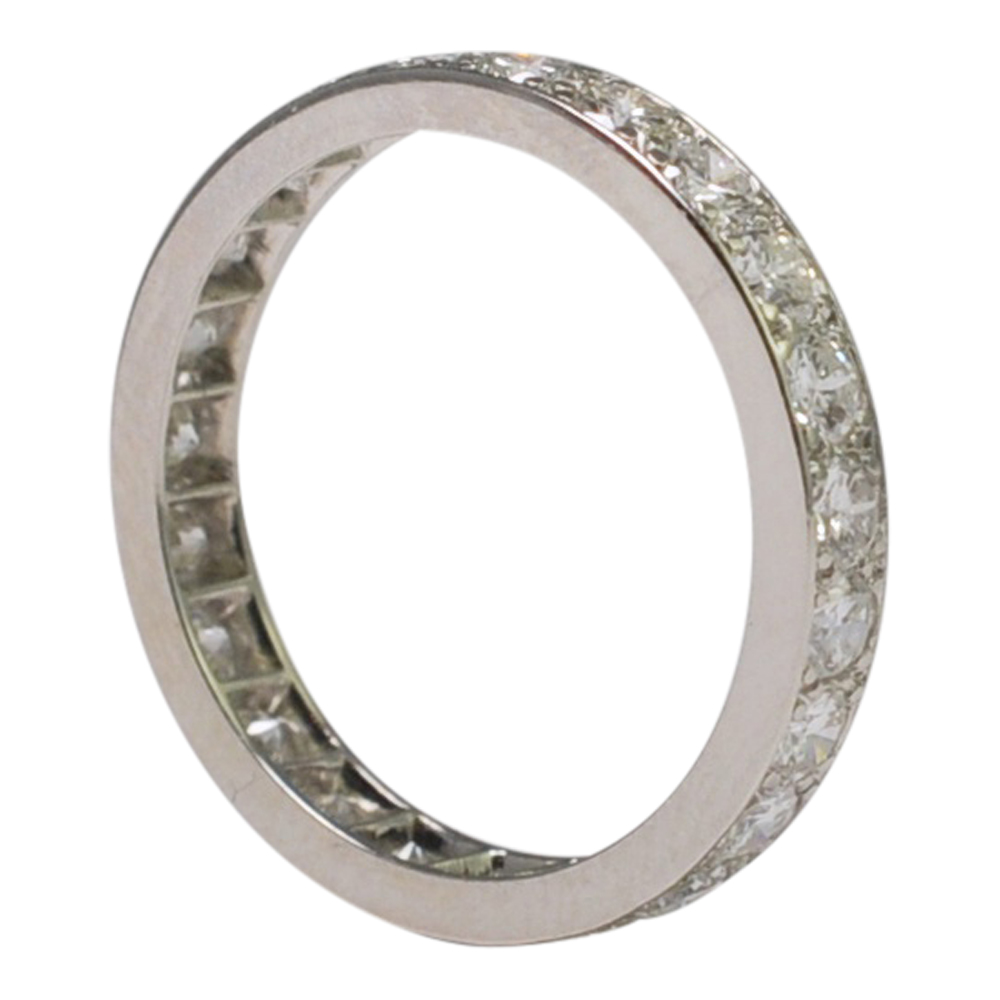 Diamond Eternity Platinum: Diamond Platinum Eternity Ring