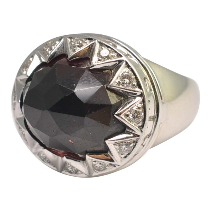 Stephen Webster Garnet Diamond Poison Ring