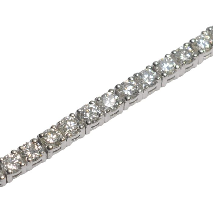Diamond Gold Line Bracelet