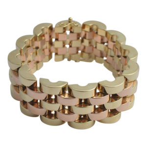Bi Colour Gold Bracelet