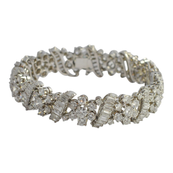 Diamond 18ct Gold Bracelet
