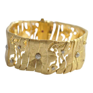 Roberto Coin Gold Diamond Bracelet