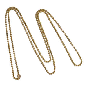Victorian 15ct Gold Long Chain