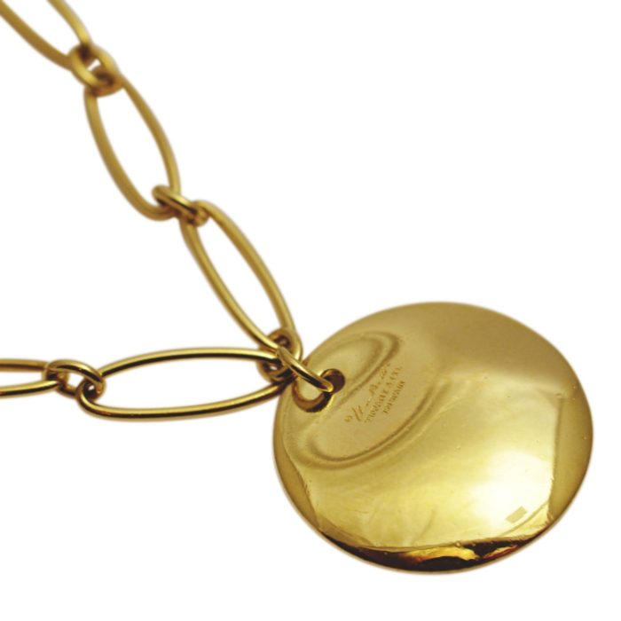 Elsa Peretti Tiffany & Co Gold Disc Bracelet