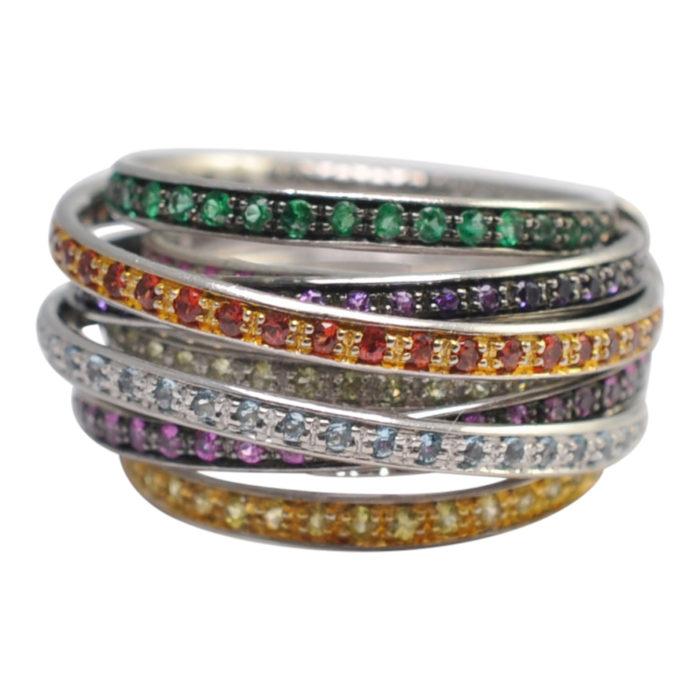 De Grisogono Allegra Multi Stone Ring