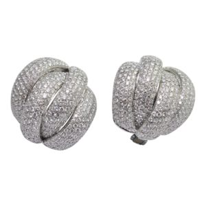 Leo Pizzo 4 Band Diamond Earrings