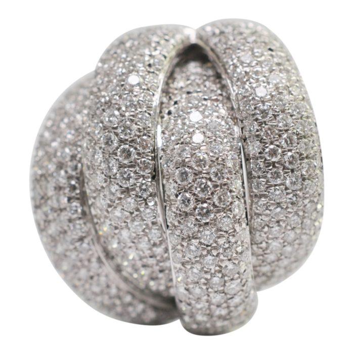 Leo Pizzo 4 Band Diamond Earrings