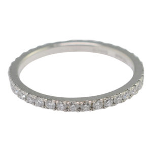 De Beers Diamond Platinum Eternity Ring