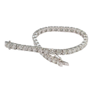 10.29ct Diamond Line Bracelet