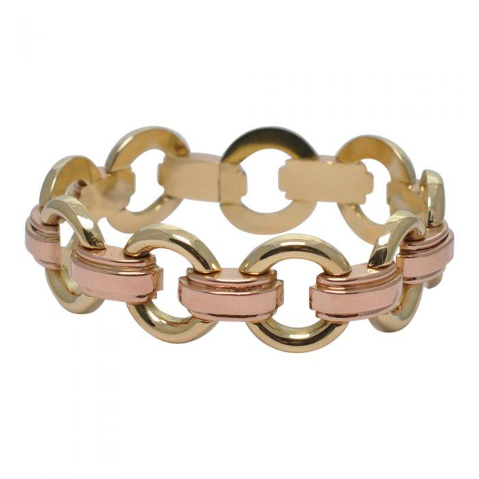Art Deco 14ct Gold Bracelet