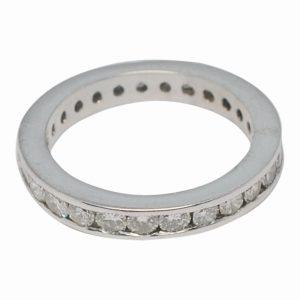 Diamond 18ct Gold Full Eternity Ring