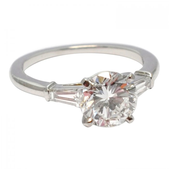 Cartier GIA Certified 1.80ct Diamond Solitaire Ring