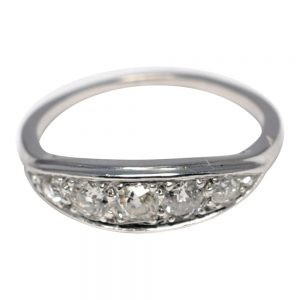 Diamond 5 Stone 18ct Gold Ring