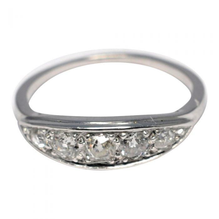 Diamond 5 Stone 18ct Gold Ring