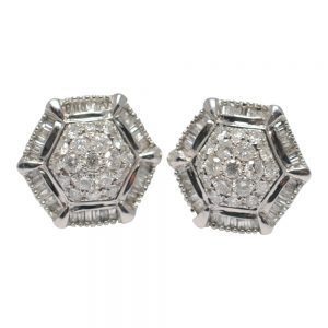 Diamond 18ct Gold Earrings