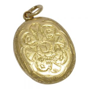 Antique Victorian 15ct Gold Locket