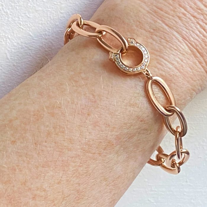 """C"" de Cartier 18ct Rose Gold Bracelet"