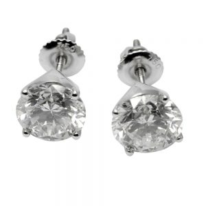 4.71ct Diamond Stud Earrings