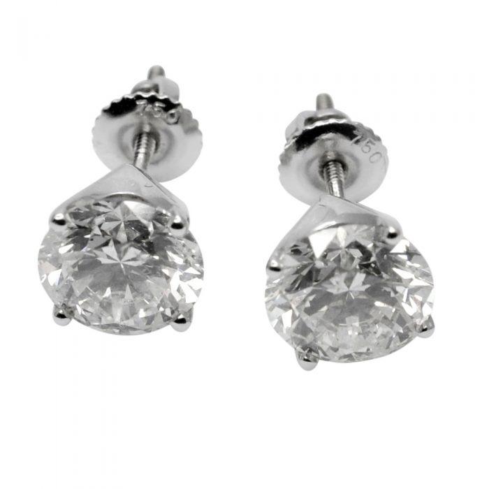 4.71ct Diamond Stud Earrings