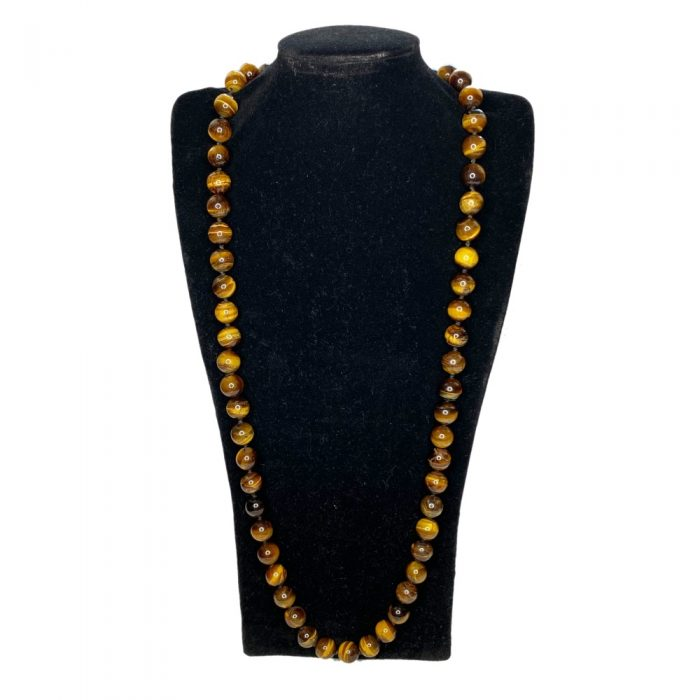 Tiger's Eye Long Necklace