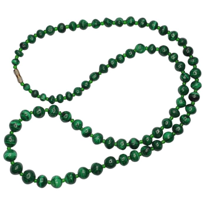 Victorian Malachite Necklace