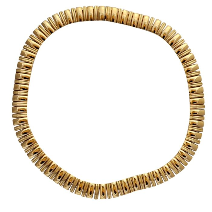 18ct Gold Collar Necklace