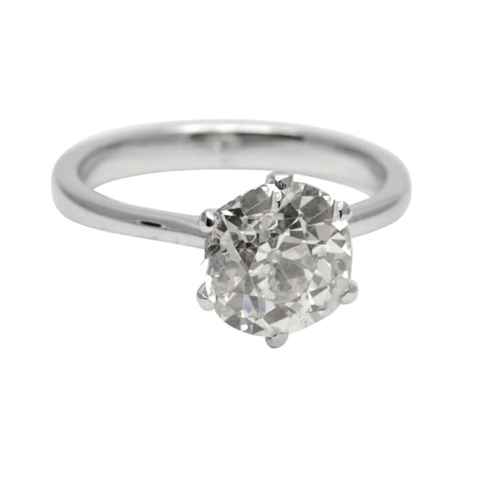 2.53ct Diamond Solitaire Ring